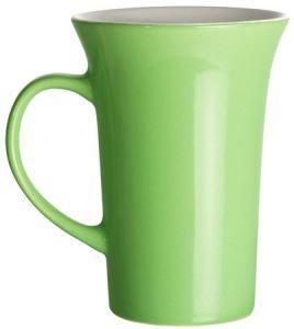 Cana  din ceramica verde