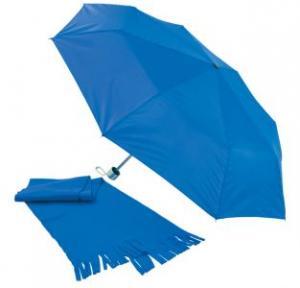 Fular din polar cu umbrela