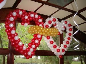 Decoratiuni / aranjamente din baloane