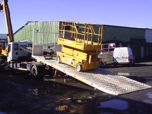Platforme transport masini