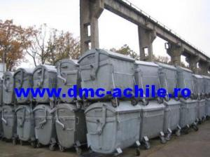 Container 1100 l metal