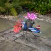 Ghiveci si suport pentru flori - Avion