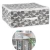 Cutie cu fermoar depozitare haine si textile Tahiti 46x46 cm