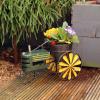 Ghiveci si suport pentru flori - tractor