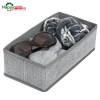 Organizator pliabil textil pentru sertare,sifoniere-max 28x14x9cm