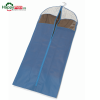 Husa pentru protectia hainelor lungi pe umerase-bloom-albastru
