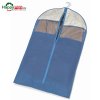 Husa pentru protectia hainelor pe umerase-bloom-albastru 60x100cm