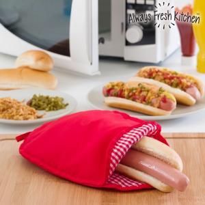 Sac pentru gatit hotdog la microunde