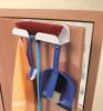 Suport de usa pentru depozitare ustensile curatenie