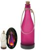 Lampa solara model sticla inghetata cu senzor de lumina-purpuriu