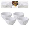 4 recipiente ceramica, boluri pentru servire si prezentare ø