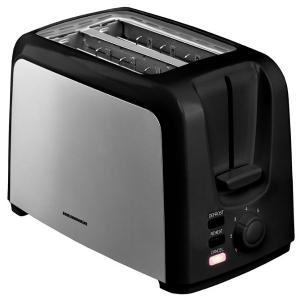 Prajitor de paine Heinner HTP-700BKSS, 3 functii, 7 nivele de rumenire, 700 W, culoare negru - inox