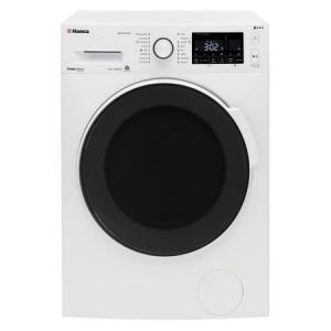 Masina de spalat rufe Hansa WHP8140LB, turatie 1400 Rpm, capacitate 8 Kg, clasa energetica A+++, 16 programe, display, culoare alb