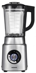 Blender Heinner HBL-1200XMC, 1200 W, viteza variabila+puls, recipient sticla 1.7 litri, inox