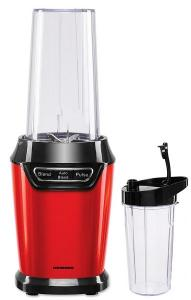 Blender sport Heinner HSB-D1000RD, 1000 W, 2 viteze, recipient din plastic de 0.5/0.7 litri, rosu