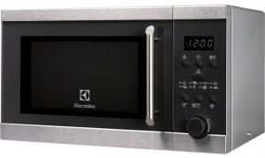 Cuptor cu microunde Electrolux EMS21300OX, 18 Litri, 5 Nivele De Putere, Control Electronic, Afisaj Digital, Timer, Inox