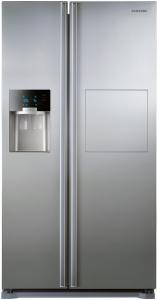 Frigider Side by Side Samsung RS7577THCSP, Full No Frost, Clasa A+, 530 L, Dozator apa, Dozator gheata, Inaltime 179 cm, Inox