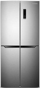 Frigider side by side Heinner HSBS-H401MNX+, 4 usi, A+, 268+133 litri, 79 cm, electronic, no frost, inox