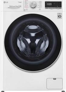Masina de spalat rufe cu uscator LG F4DN408S0, motor inverter, 1400 Rpm, spalare 8 Kg, uscare 5 kg, A, afisaj, alb