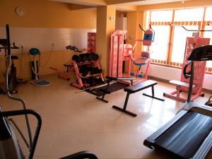Sala gimnastica aerobica
