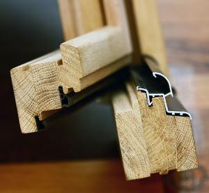 Ferestre lemn stratificat geam termopan