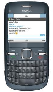 Telefon mobil nokia c3 grey