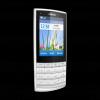 Telefon mobil nokia x3-02 touch and type white silver
