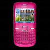 Smartphone nokia c3 pink