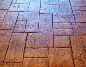 Pavaj beton amprentat
