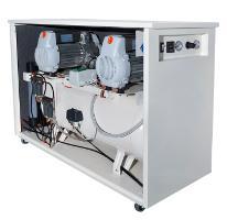 Compresor aer medical in tandem, insonorizat,  cu uscator tip  Bamax  MED720/100TDS3+3