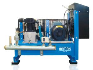 Compresor de inalta presiune montate pe cadru de baza Bamax BX 220-880