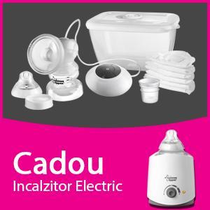 Pompa de san electrica + CADOU Incalzitor electric pentru biberoane