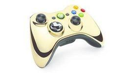 Controller Wireless Chrome Gold Xbox360