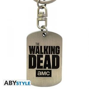 Breloc The Walking Dead Dog Tag Logo