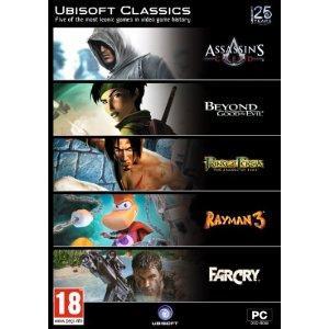 5 Ubisoft Classics Games Pc