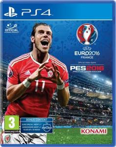 Uefa Euro 2016 And Pro Evolution Soccer Ps4
