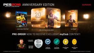 Pes 2016 Pro Evolution Soccer Anniversary Edition Ps3