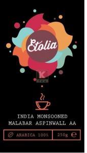 Etolia India Monsooned Malabar AA Aspinwall 250gr boabe
