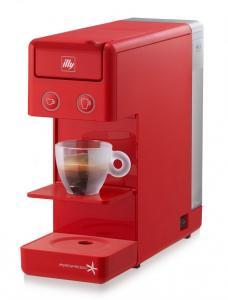 Aparat cafea illy Y3.2 Rosu 14 capsule + 63 capsule gratuit
