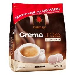 Paduri Dallmayr Crema d Oro Mild & Fein 28 paduri