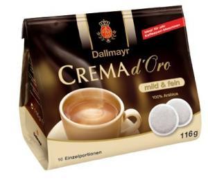 Paduri cafea Dallmayr Crema d\'Oro Mild & Fein