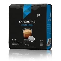 Paduri CAFE ROYAL Lungo Mild 36 buc