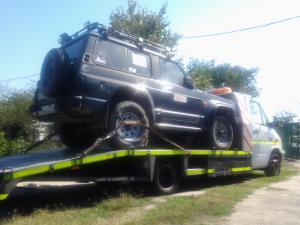 Platforma Tractari auto 4x4 in Bucuresti