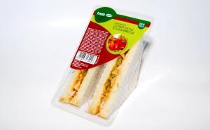 Sandwich FRESH piept de pui si sos barbeque