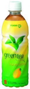 POKKA  Ceai verde cu lamaie si miere