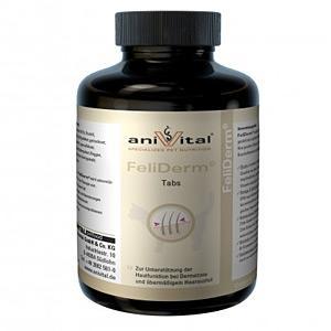 Vitamine Anivital FeliDerm 140 tablete