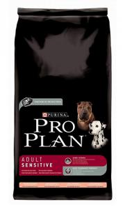 Pro Plan Caine Adult Sensitive Somon si Orez 3kg