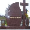 Cruce din marmura sau