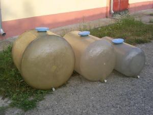 Butoaie rezervoare fibra sticla