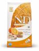 N&d low grain adult mediu peste si portocale 12kg